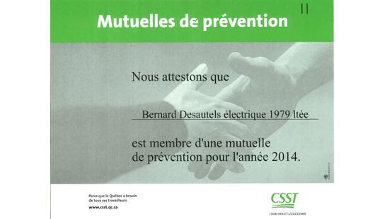 CSST – Mutuelle de prévention